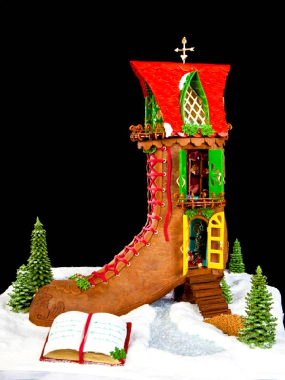 15 amazing gingerbread houses pictures