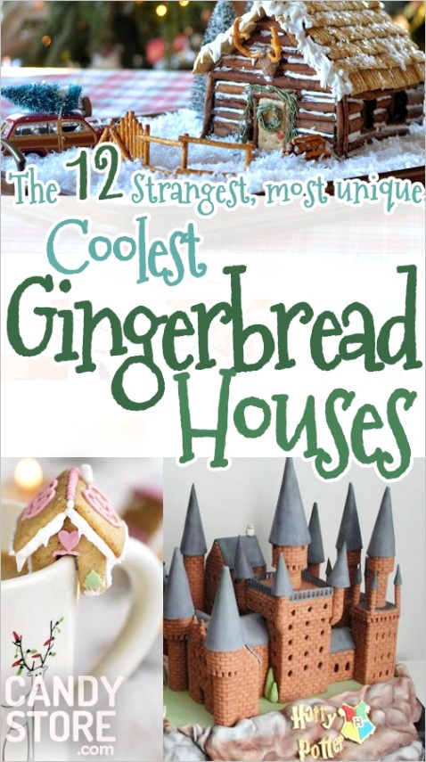 8 best gingerbread houses