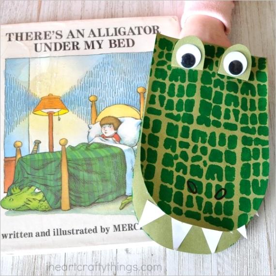 diy alligator puppetsml
