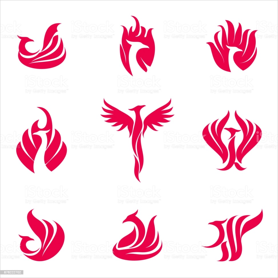 phoenix bird template gm