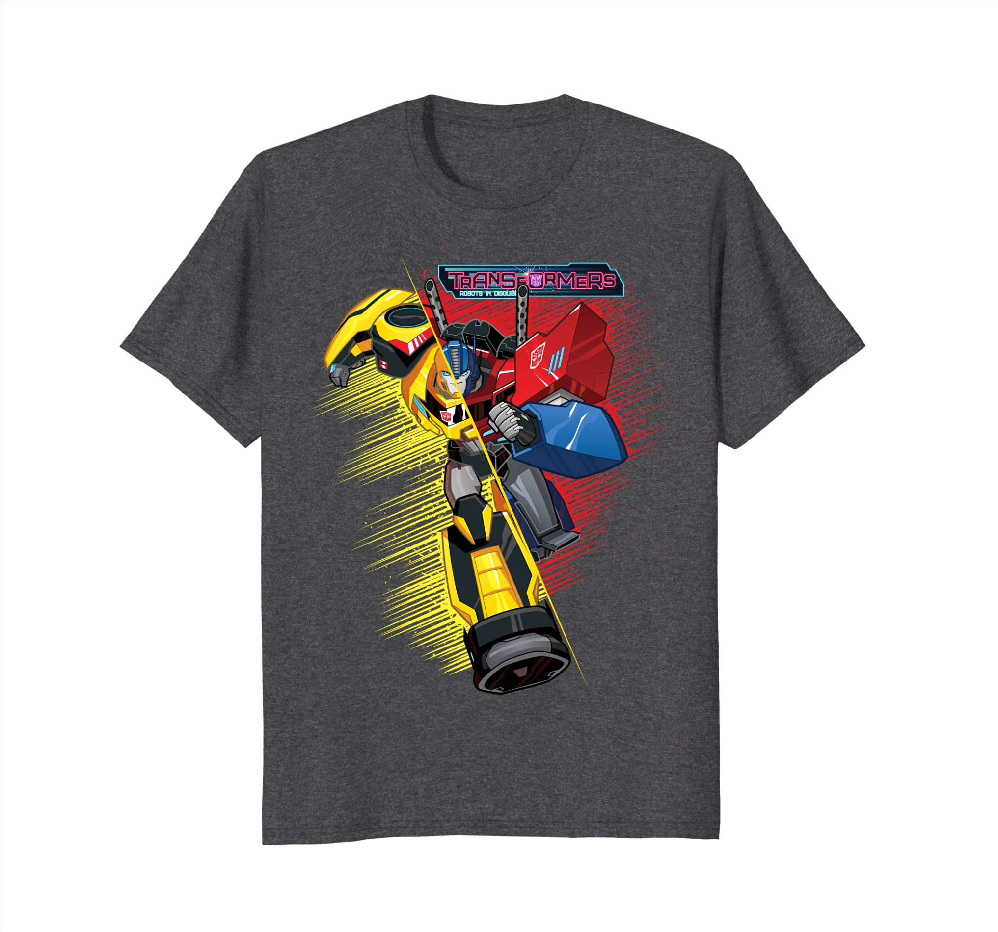 transformers bumble bee and optimus prime hybrid t shirt alottee t