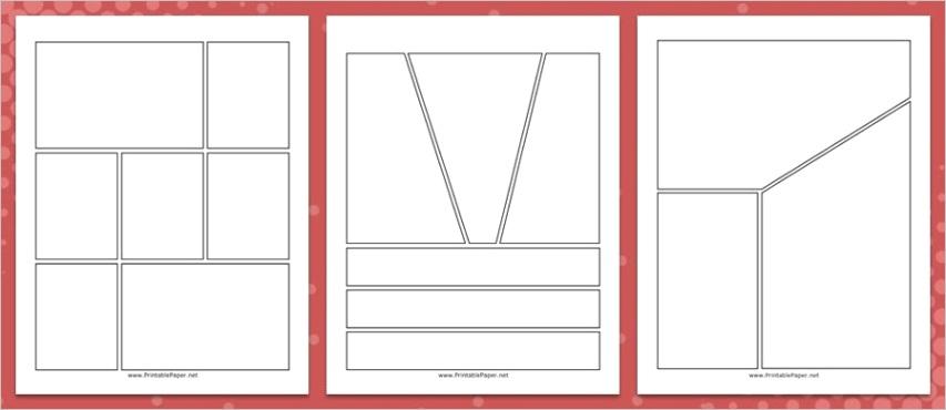 magazine and ic book layout