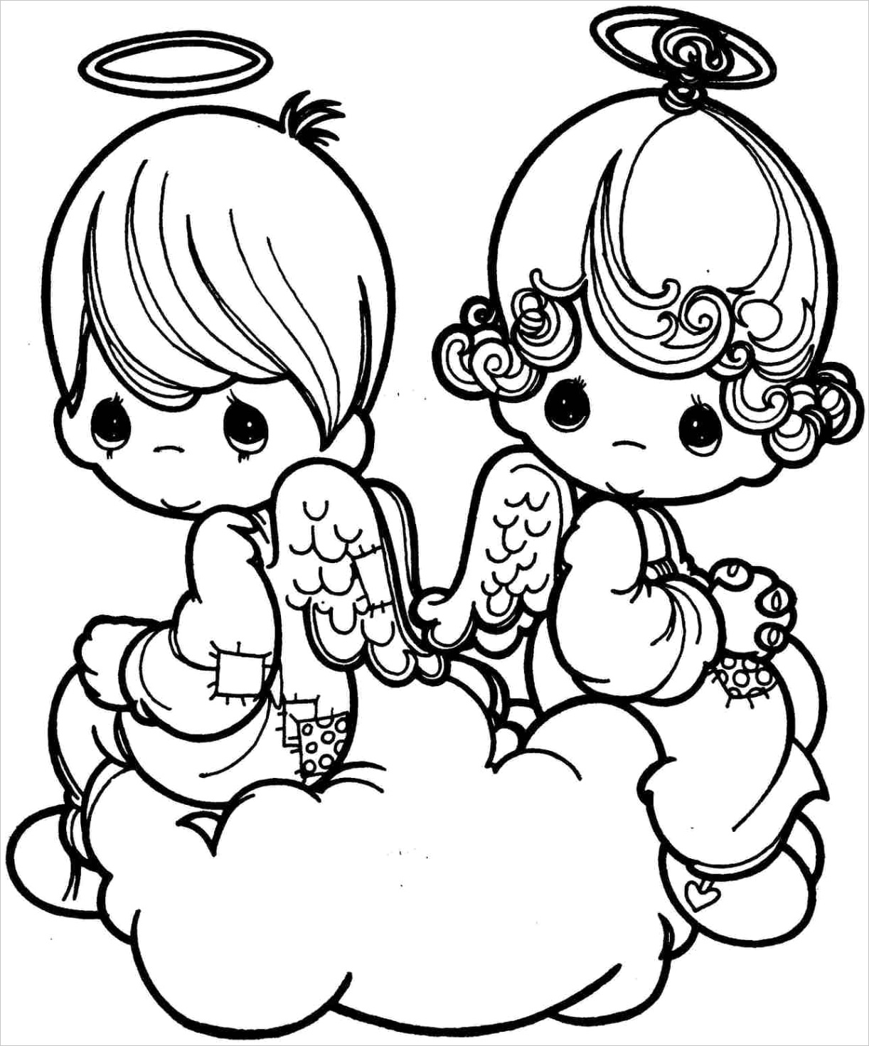 cupid coloring pagesml