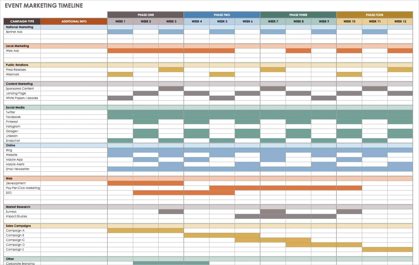 free event planning templates