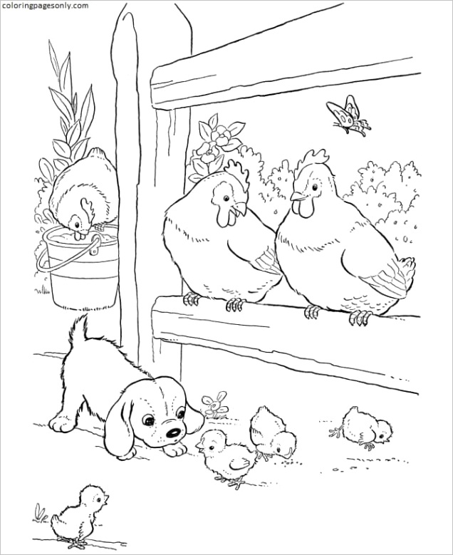 printable farm animals 4
