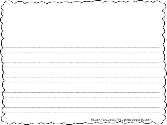 2nd grade blank writing paper blankml