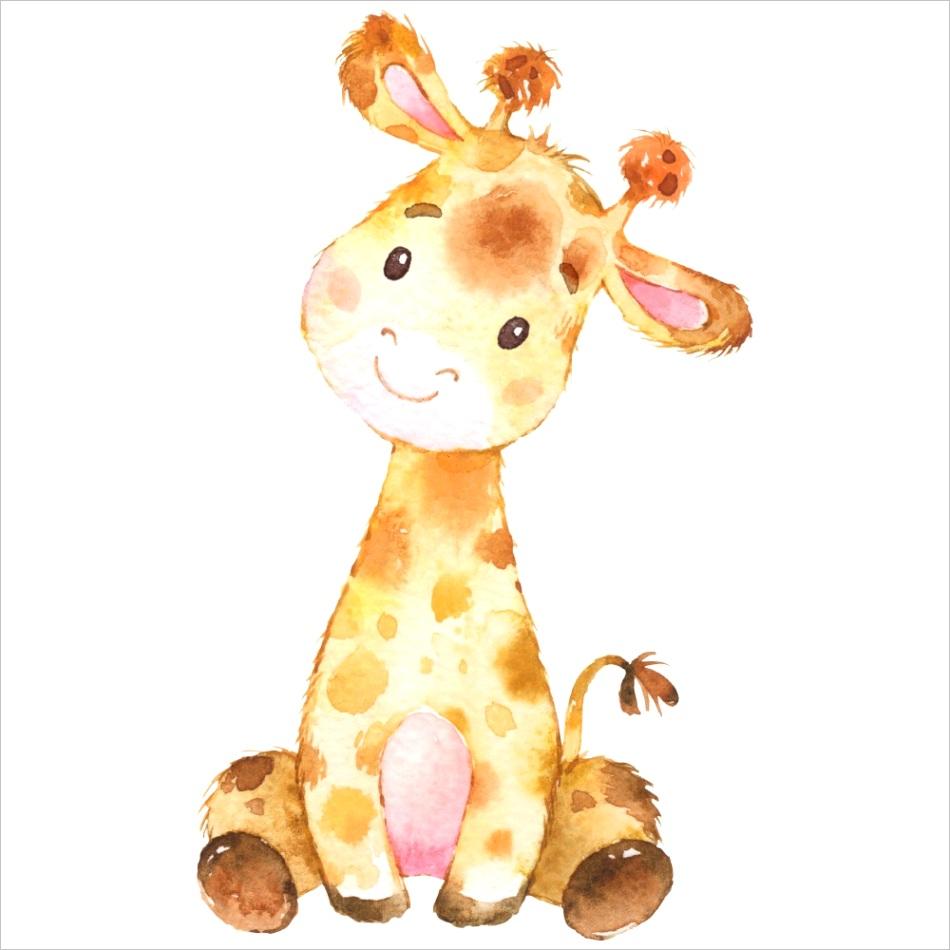 giraffe standee cutout