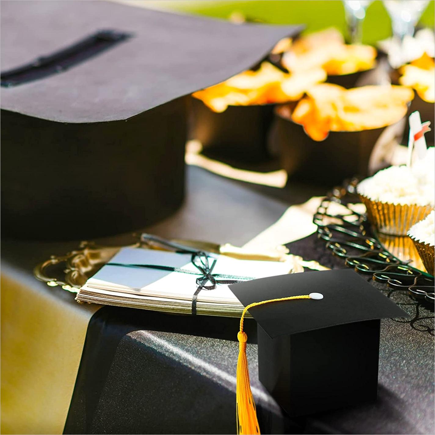 1AEQ1EB5W graduation party favors 2021 24 pack graduation favor boxes grad cap box for candy goody chocolate t graduation party supplies