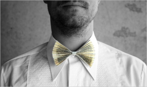 how to rock a paper bow tie