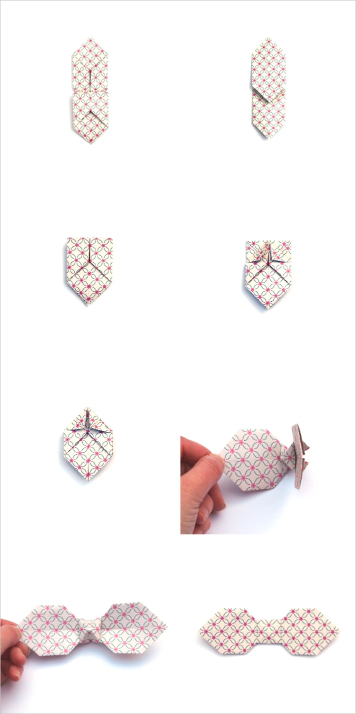 origami bow ties