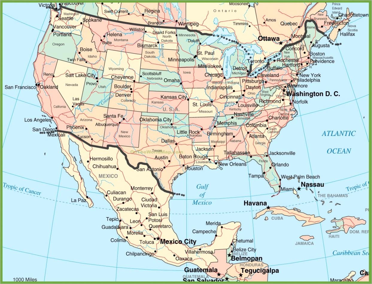 usa and mexico mapml