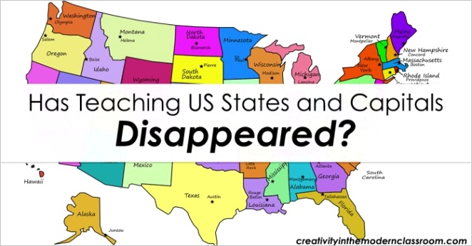 has teaching us states and capitals disappeared