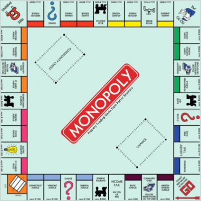 monopoly photoshop template