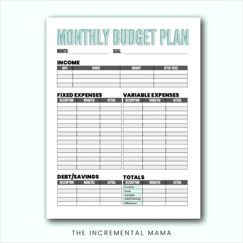 free blank bud worksheet printables