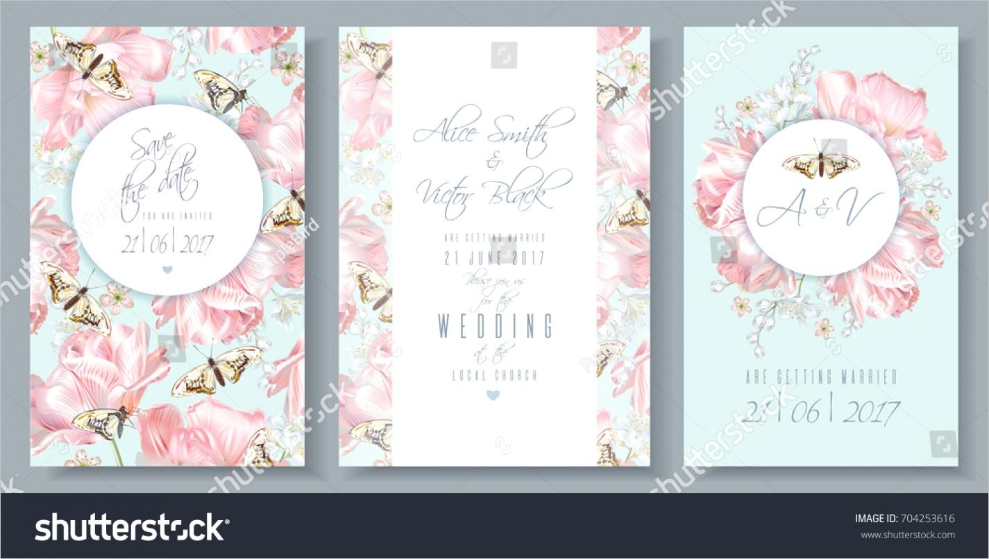 vector wedding invitation thank you cards