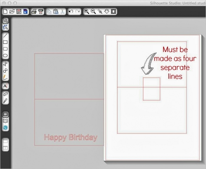 basic silhouette pop up card tutorialml