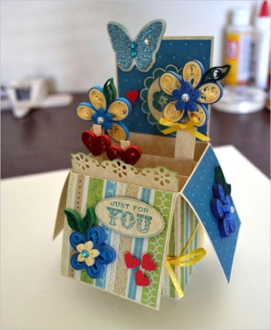 DIY Thank You Cards 3D Traditional and Free Printable Cards