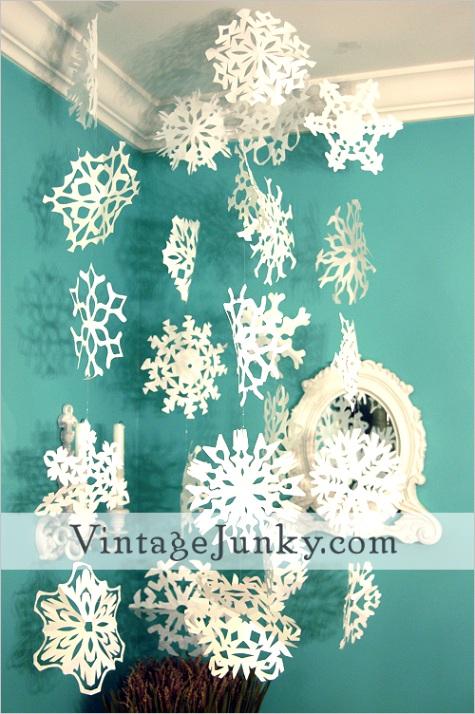 paper snowflake paper snow flake how toml