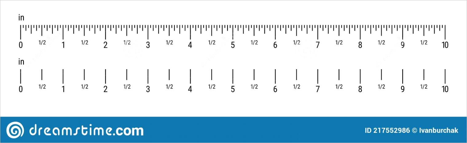 accurate inch rulerml