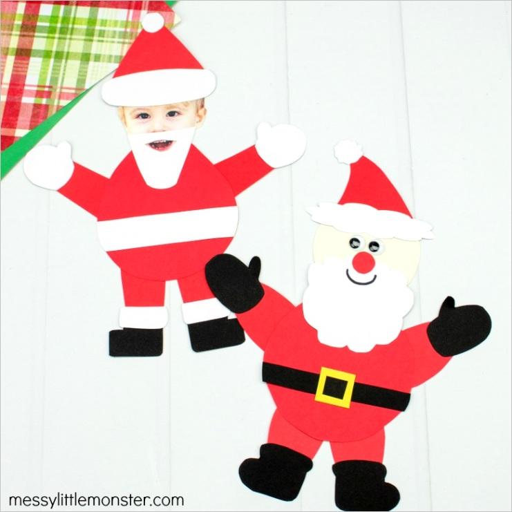 paper santa craft templateml