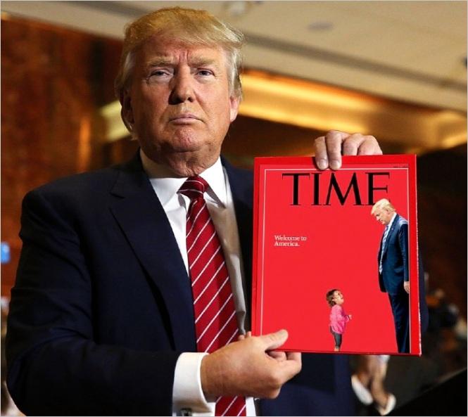 Trumps Time Magazine Cover