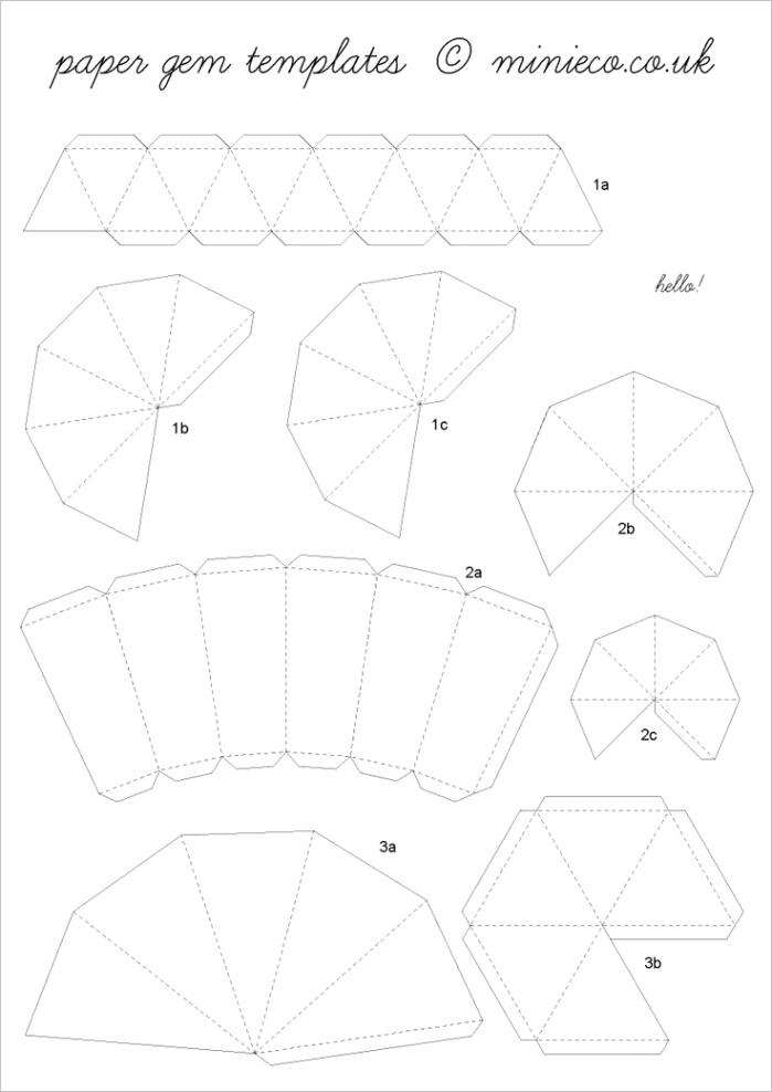 printable diamond template