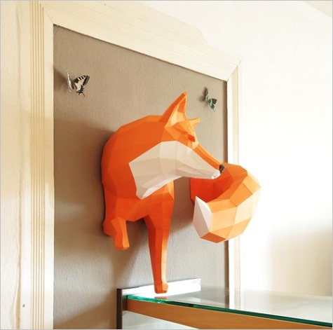 3d paper craft animals paperwolfml