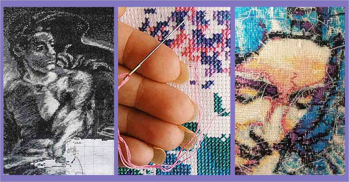 top ten cross stitch tips