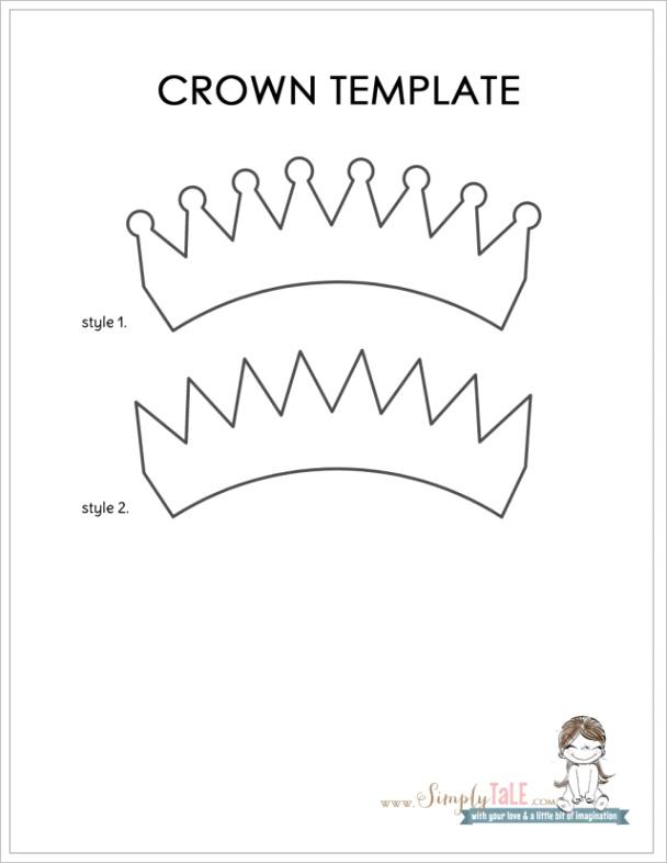 diy crown for my princess