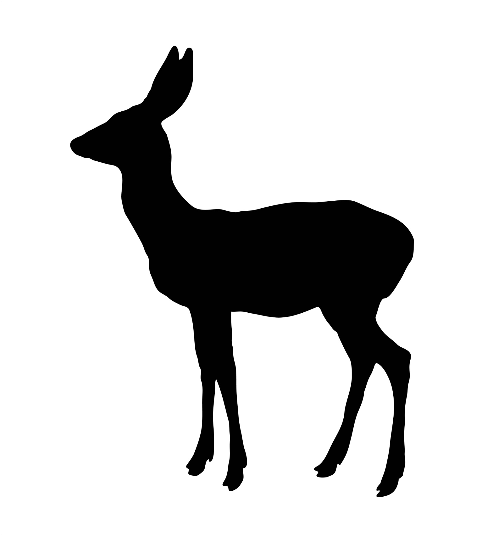 view image image= &picture=deer silhouette