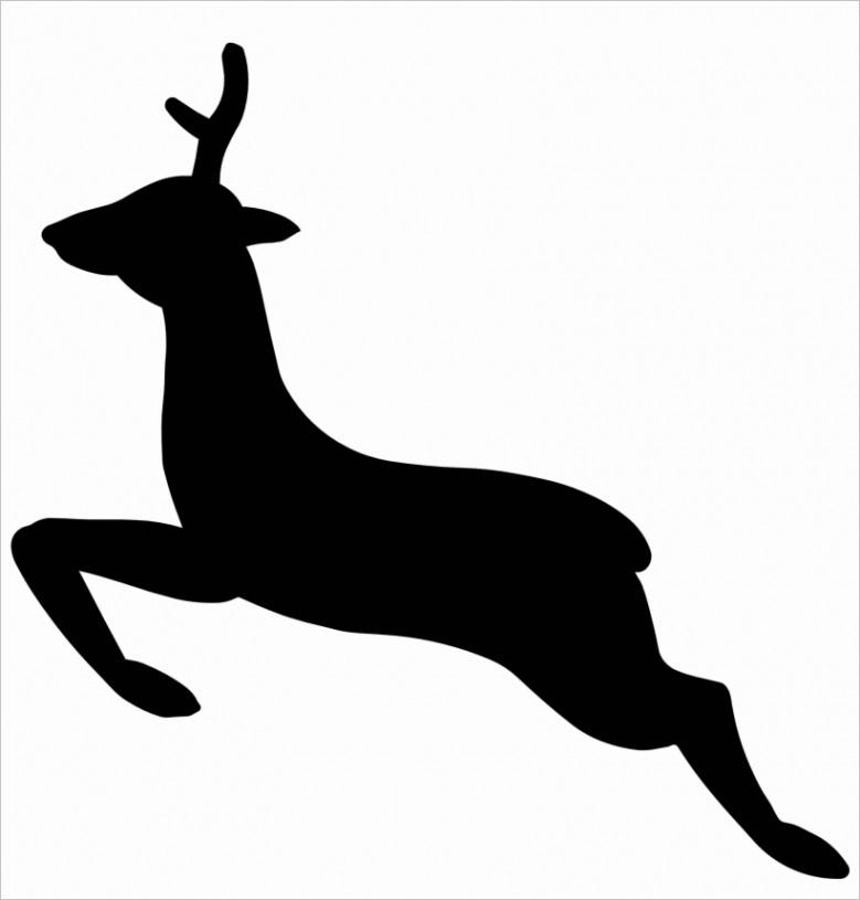 u2q8w7t4e6e6e6w7 free deer head silhouette clip art at drawings