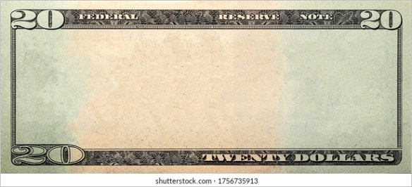 us currency bill template