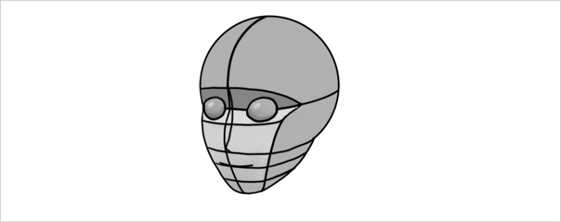 how to draw anime heads and faces cms