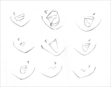 drawing anime lips mouths art 64 ideas