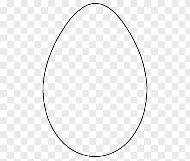 easter egg bunny coloring book point template transparent png
