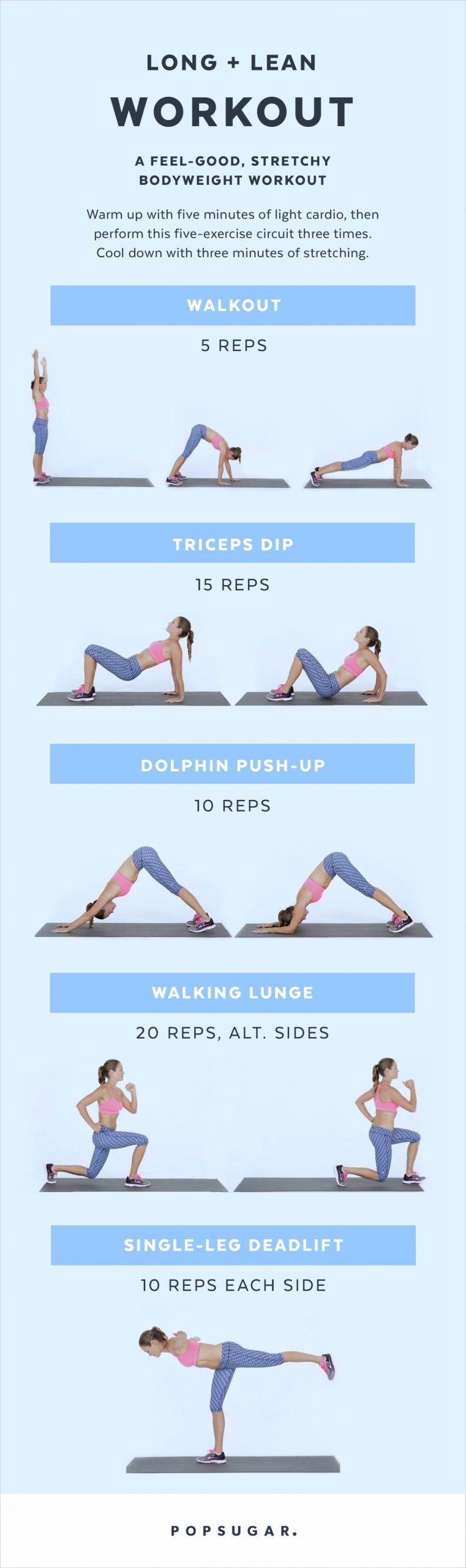 Printable Bodyweight Workouts