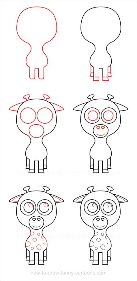 draw a giraffeml