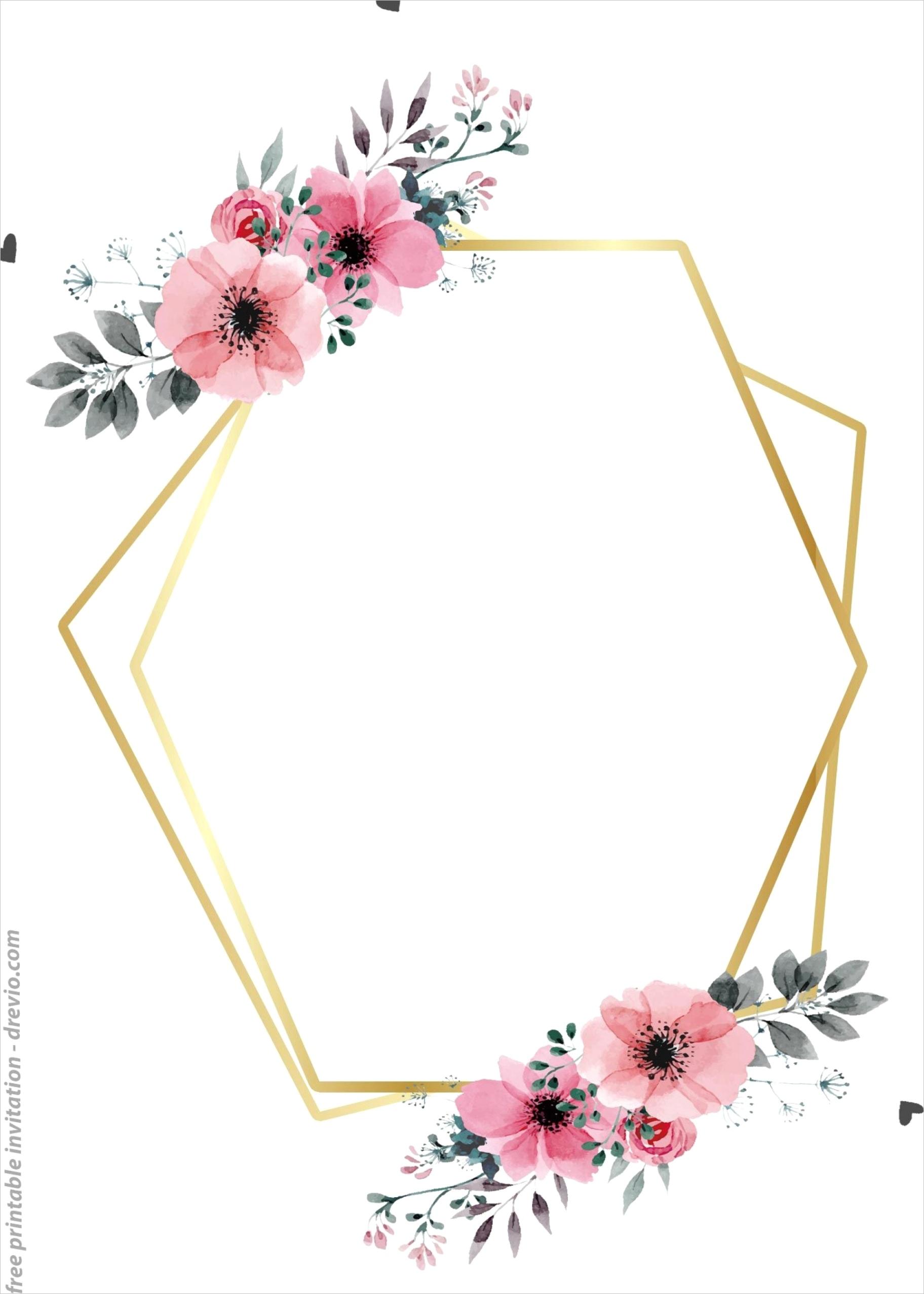 wedding invitation blank template highml