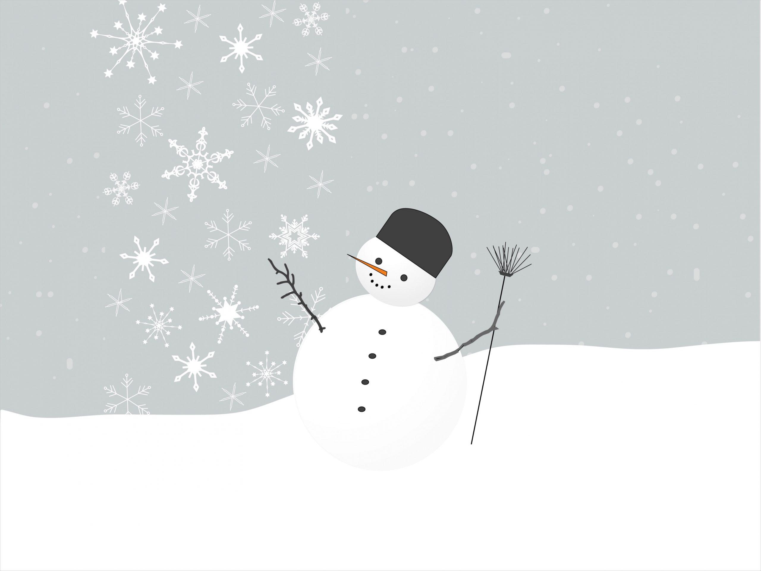 blank snowman templates