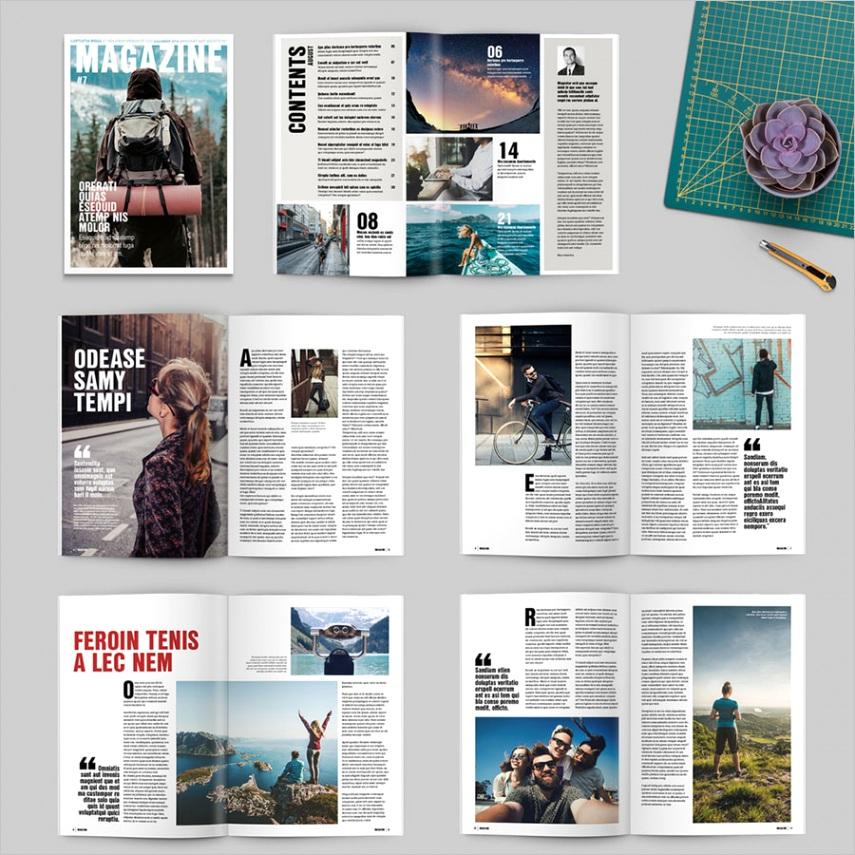 35 indesign magazine templates