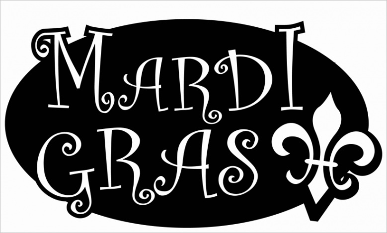 u2r5o0i1t4w7e6e6 mardi gras black and white outline clip art