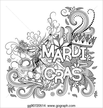 mardi gras background gg ml