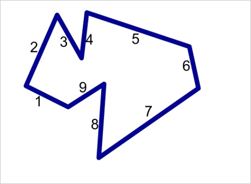 what is an enneagon definition lessonml
