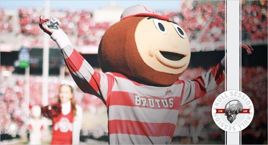 ohio state football bruce feldman thinks ohio states overrated ohio states first mascot was a dog and urban meyer