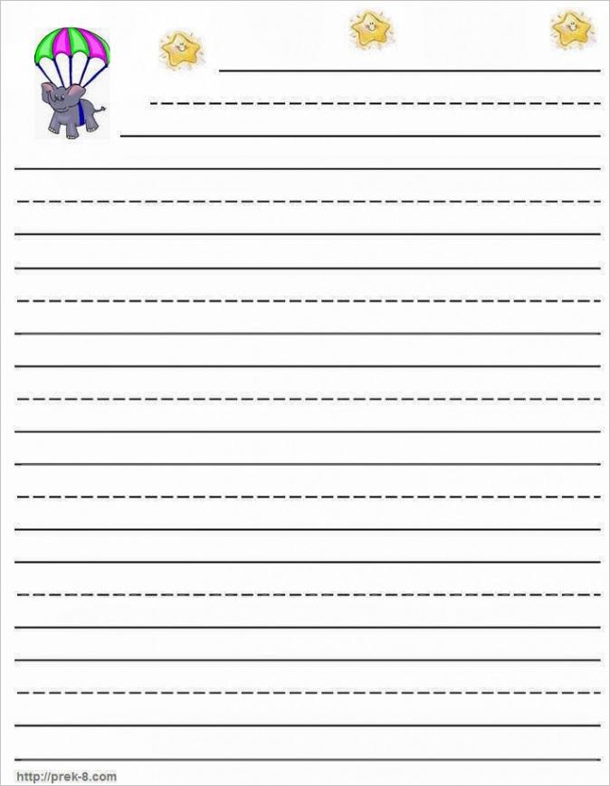 primary handwriting paperml