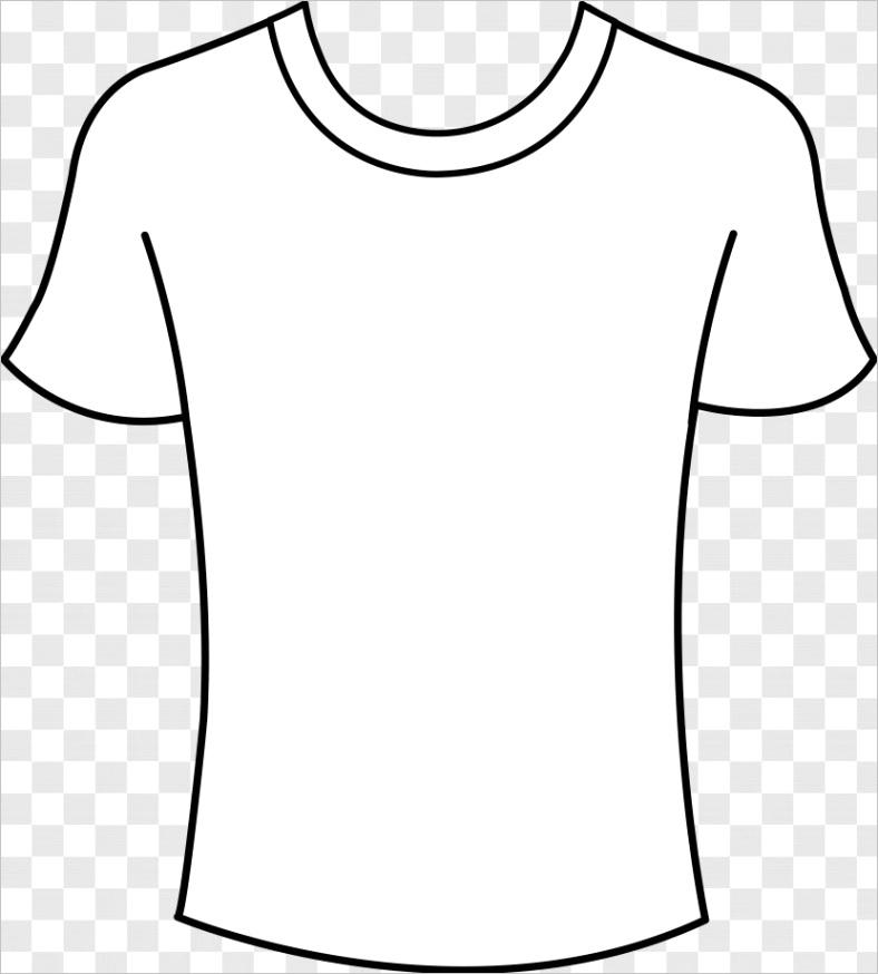 t shirt template free content clip art printed tshirt black shirt cliparts transparent png