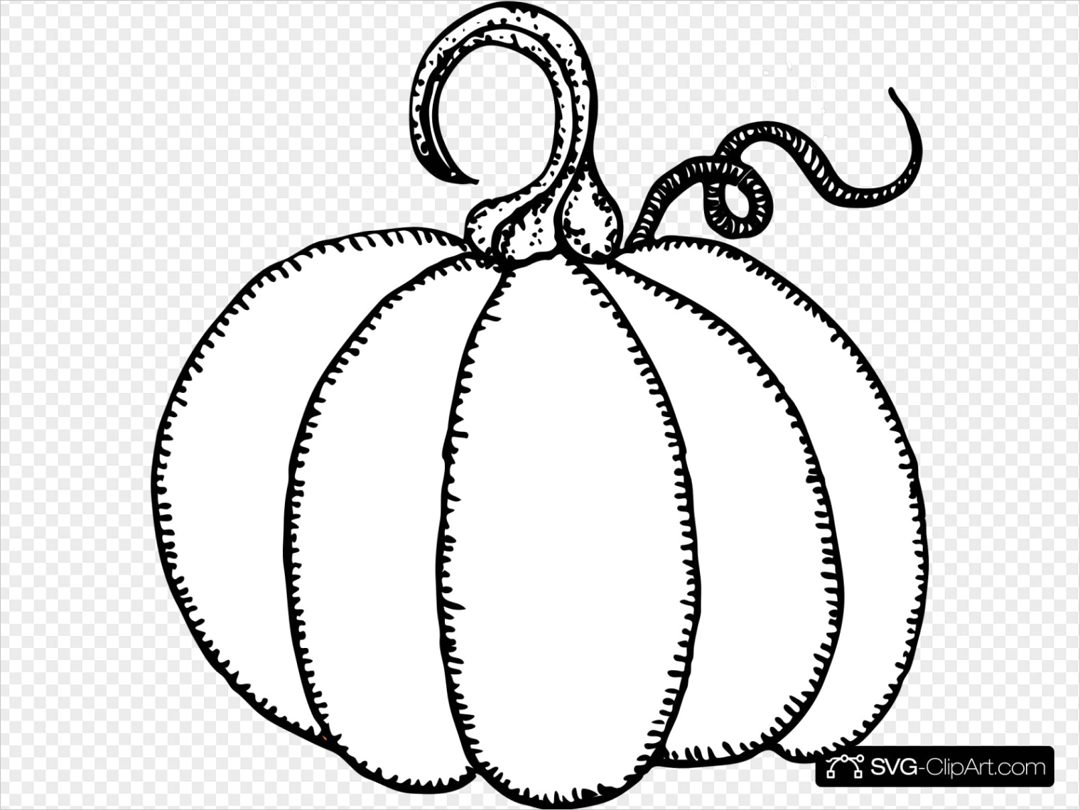lJeBrt6 pumpkin outline clipart