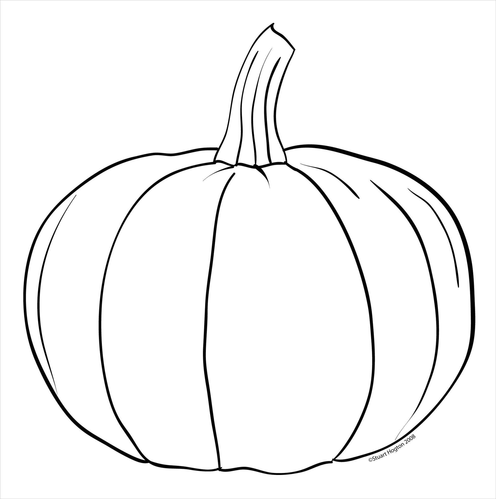 pumpkin clipart black and white 2244