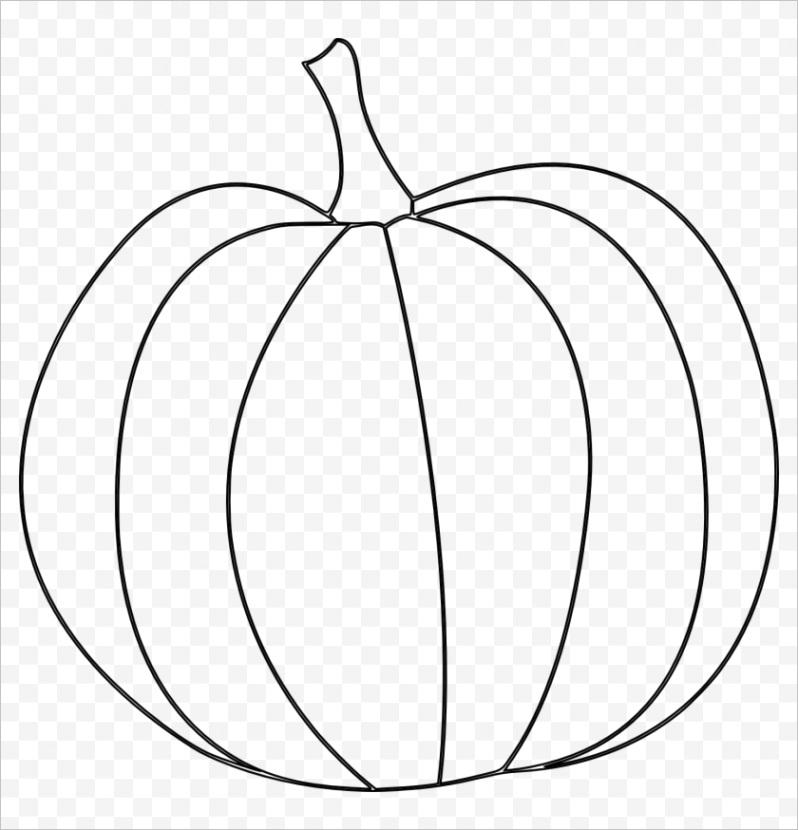 hbmRbx pumpkin outline png pumpkin clipart black and white