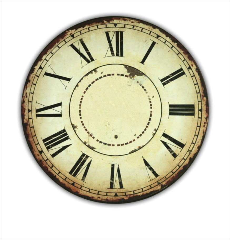 hxbomw clock printable clock face roman numerals